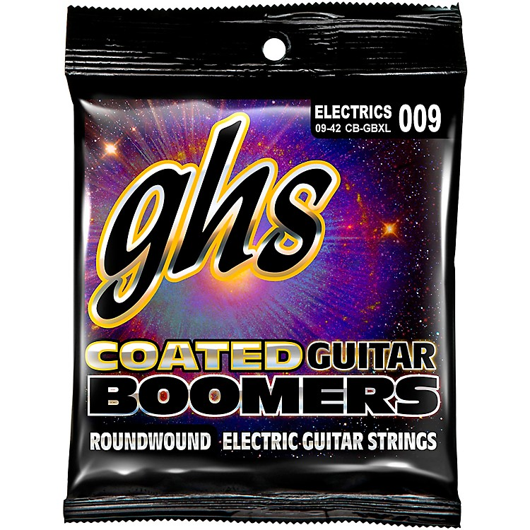 GHSGBXL Coated Boomers Extra Light Electric Guitar Strings