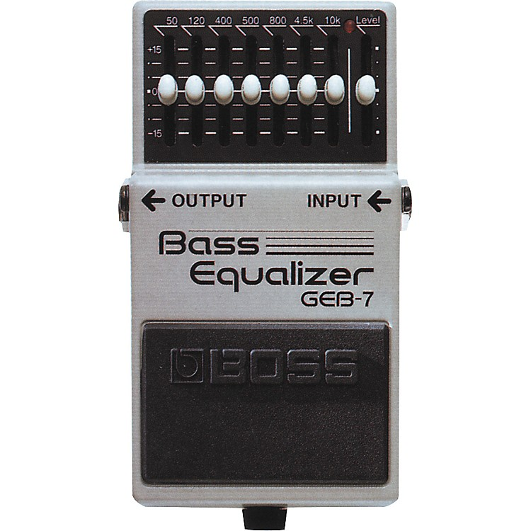 boss geb 7 bass equalizer pedal music123. Black Bedroom Furniture Sets. Home Design Ideas