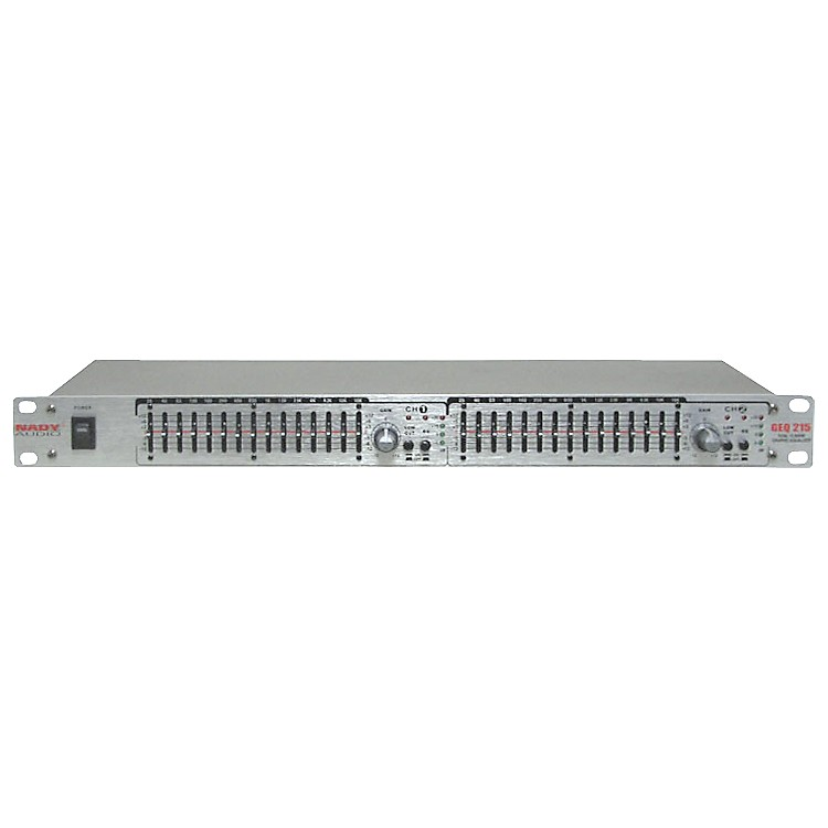 NadyGEQ-215 2-Channel 15-Band Graphic Equalizer