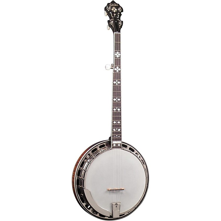 Gold Star GF-200 Flamed Maple Sunburst 5-String Banjo Sunburst