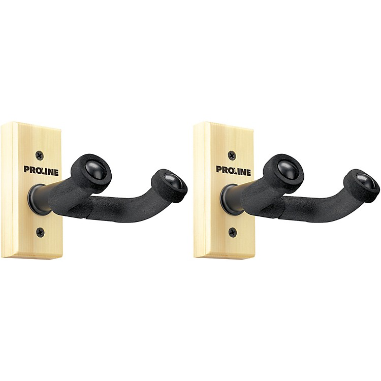 FretRest by Proline GH1 Guitar Wall Hanger (2-Pack) Natural