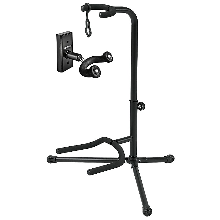 FretRest by ProlineGH1 Guitar Wall Hanger and GS5 Guitar Stand Package