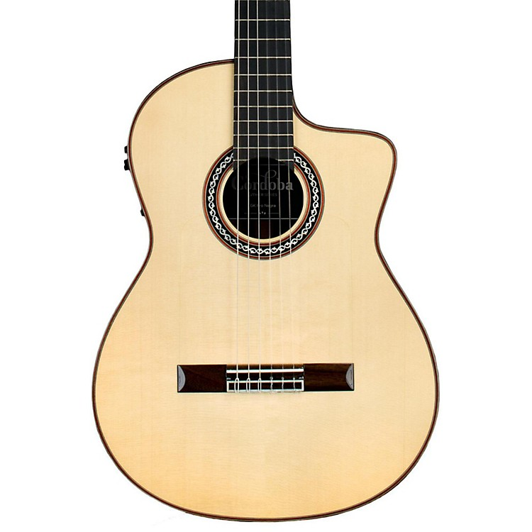 Cordoba GK Pro Negra Nylon Acoustic-Electric Guitar Natural