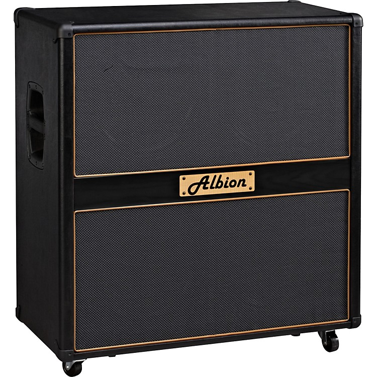 Albion Amplification GLS Series GLS412 Guitar Speaker Cabinet 280W Black