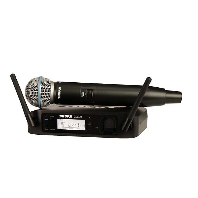 ShureGLX-D Wireless Vocal System with Beta 58 MicZ2