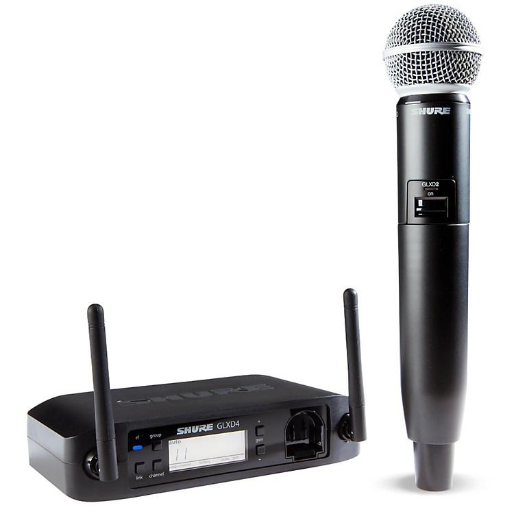 ShureGLX-D Wireless Vocal System with SM58 MicZ2