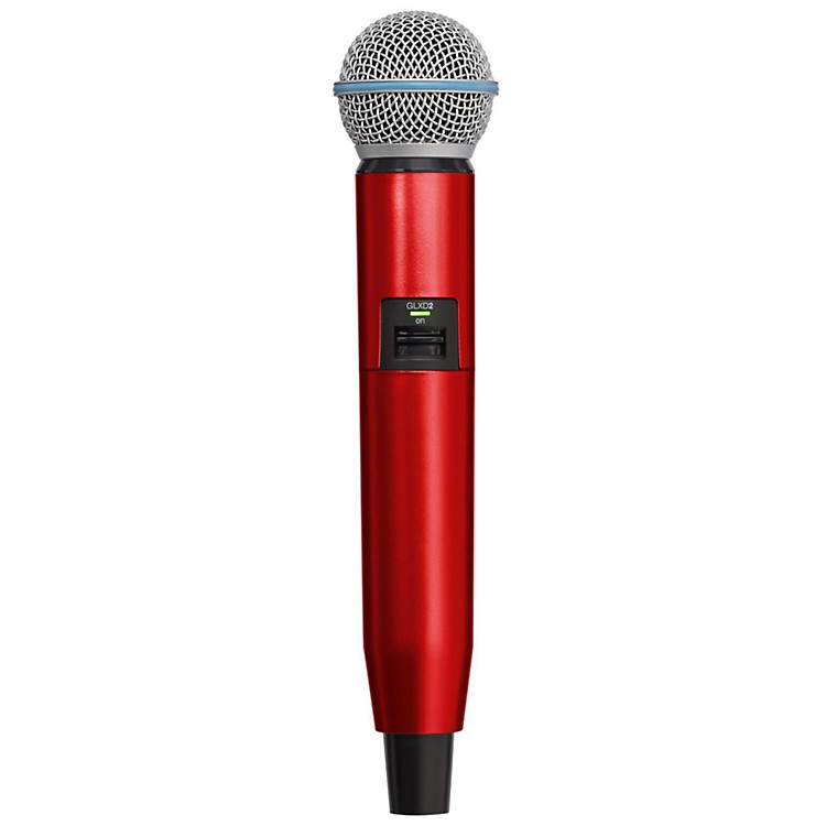 Shure GLXD Color Handle  Red