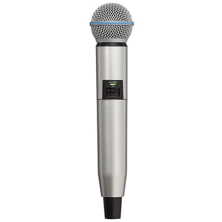 Shure GLXD Color Handle  Silver