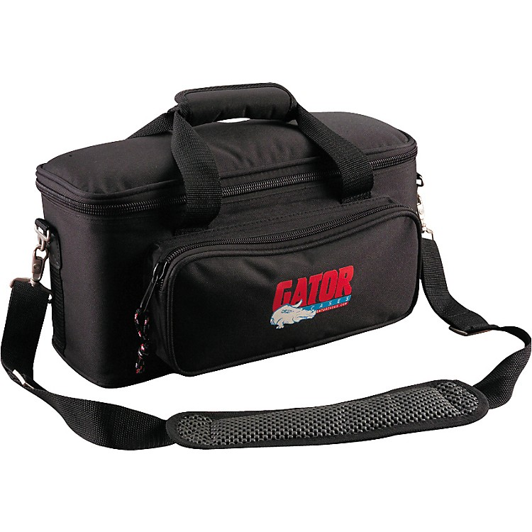 GatorGM Padded Gig Bag for Microphones12 Mics