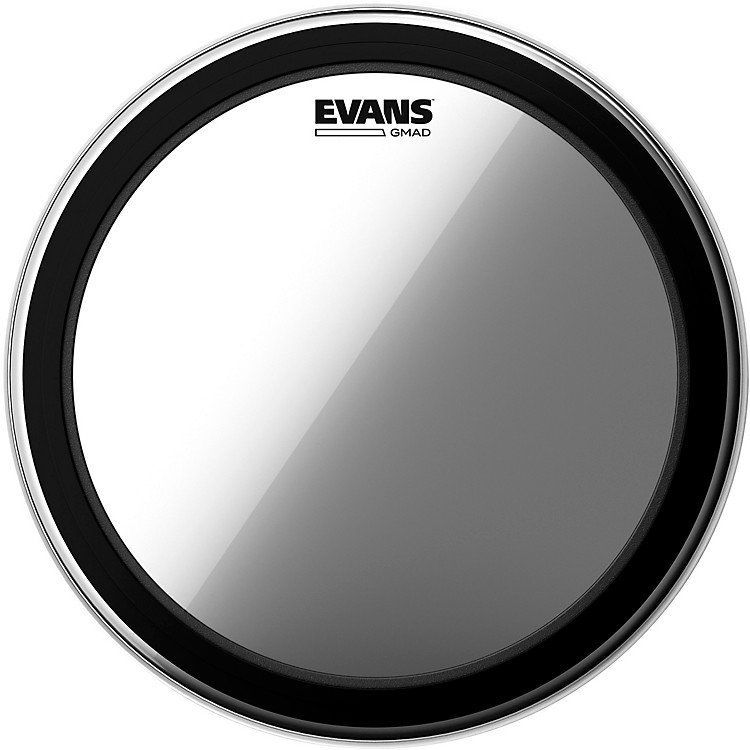 EvansGMAD Clear Batter Bass Drumhead