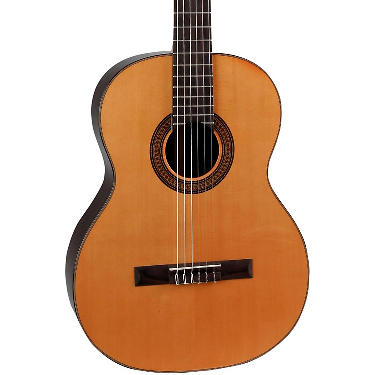 Giannini GNC-10 SPC Solid Spruce Top Classical Guitar Natural