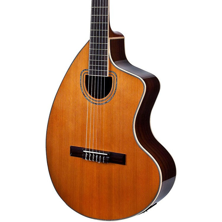 Giannini GNCRA SPC CEQ Craviola Nylon String Acoustic-Electric Guitar Natural
