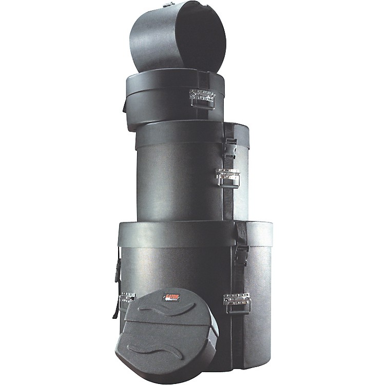 GatorGPR-Fusion20Set ATA 5-Piece Roto Mold Drum Case Set