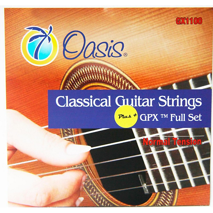 OasisGPX+ Classical Guitar Carbon Trebles/Normal Tension Sostenuto Basses