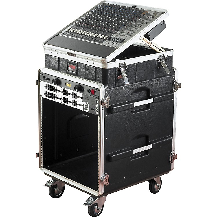 Gator GRC-10X11PU Powered Pop-up Console Rack