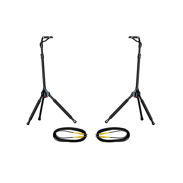Ultimate SupportGS-100 Genesis Single Guitar Stand 2-Pack w/Free Cables