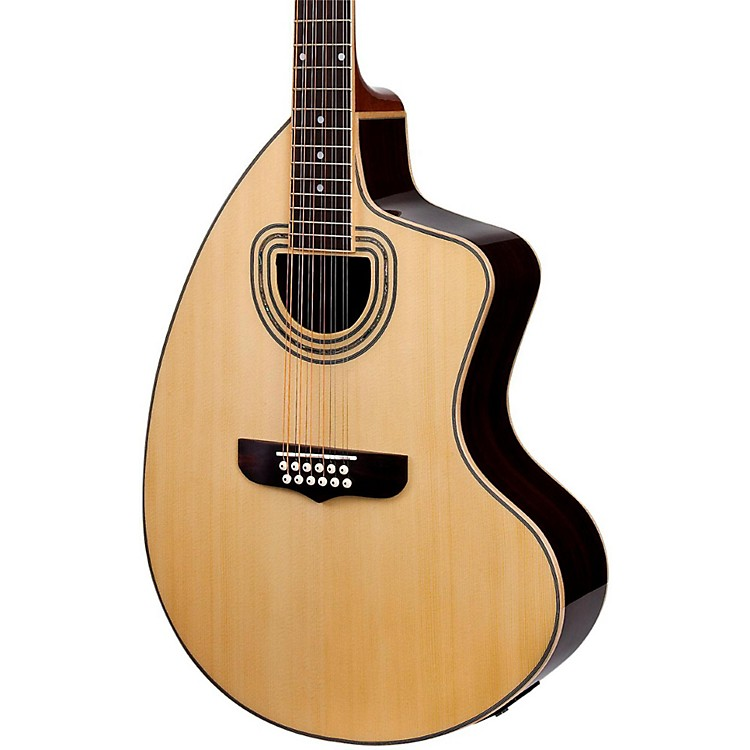 Giannini GSCRA-12 SPC CEQ Craviola 12-String Acoustic-Electric Guitar Natural
