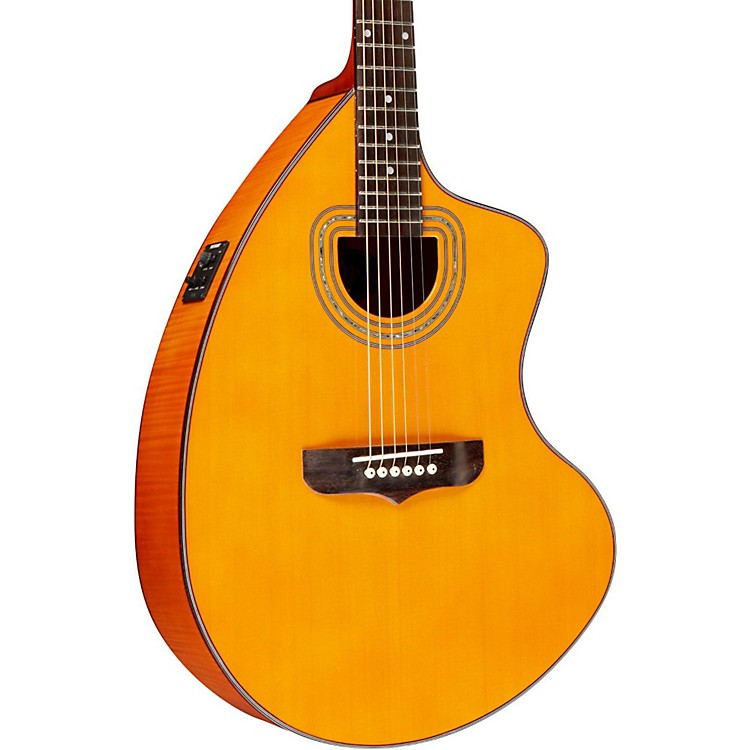 GianniniGSCRA FM CEQ N Craviola Steel String Acoustic-Electric GuitarNatural