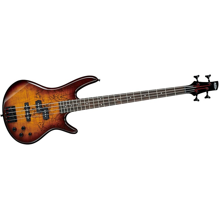 Ibanez GSR200SM 4-String Electric Bass Brown Burst Rosewood fretboard