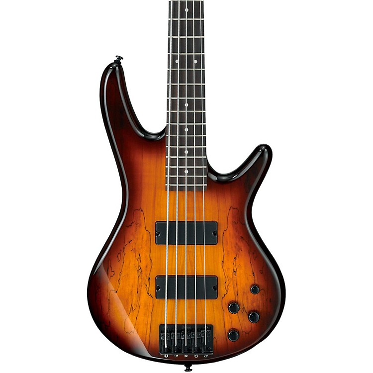IbanezGSR205SM 5-String Electric BassBrown BurstRosewood fretboard