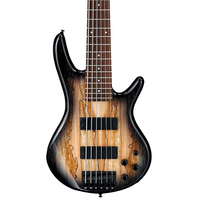 IbanezGSR206SM 6-String Electric Bass GuitarNatural Gray Burst