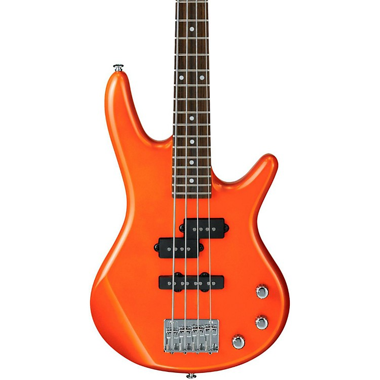 Ibanez GSRM20 Mikro Short-Scale Bass Guitar Roadster Orange Metallic