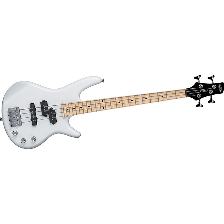 Ibanez GSRM20M Mikro Short-Scale Electric Bass Pearl White