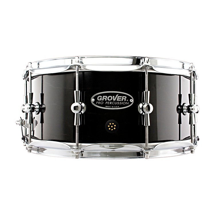 Grover Pro GSX Concert Snare Drum Charcoal Ebony 14 x 6.5 in.