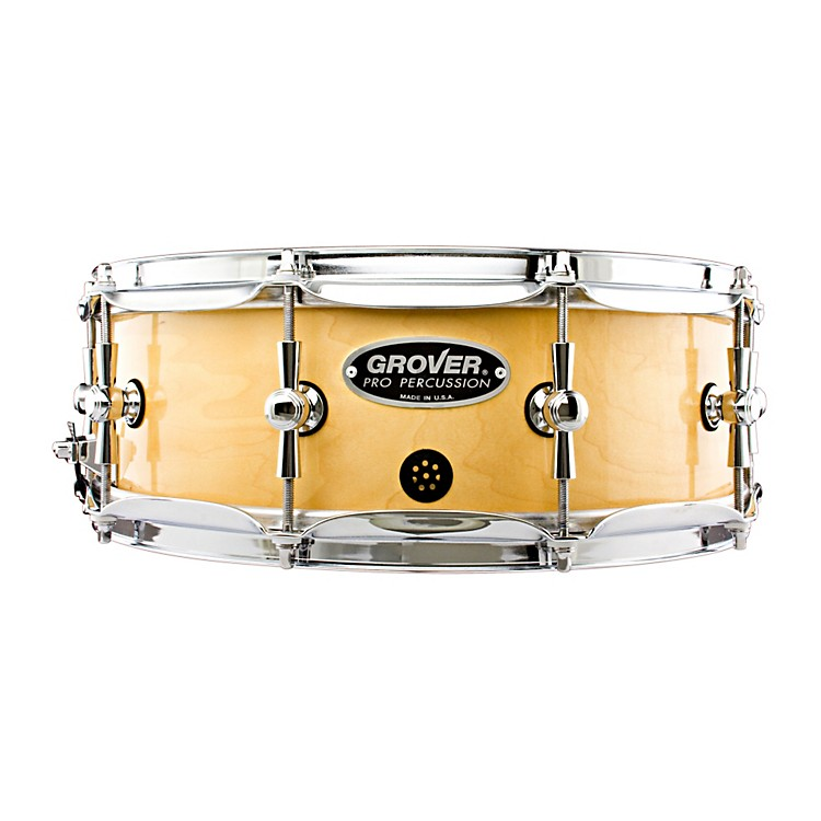 Grover Pro GSX Concert Snare Drum Natural Lacquer 14 x 5 in.