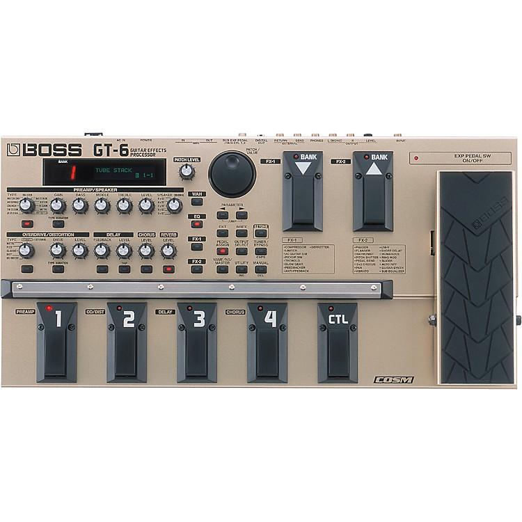 BossGT-6 Guitar Effects Processor
