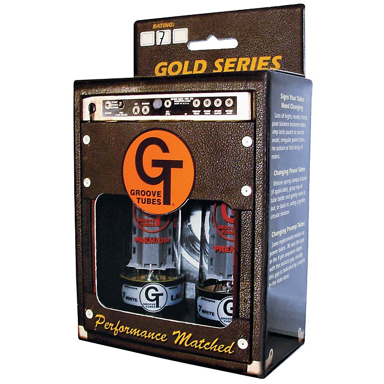 Groove Tubes GT-EL34-H High Duet Matched Power Tubes