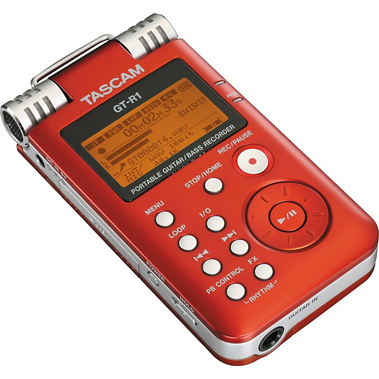 TASCAM GT-R1 Portable Guitar/Bass Recorder