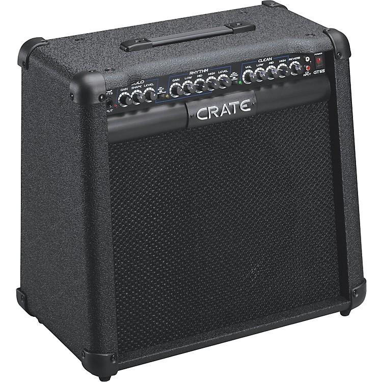 crate gt65 65w 1x12 guitar combo amp music123. Black Bedroom Furniture Sets. Home Design Ideas