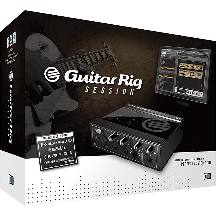 Native Instruments GUITAR RIG Session FULL