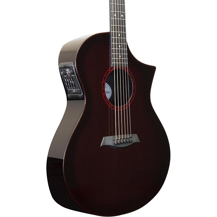 Composite AcousticsGX ELE Narrow Neck Acoustic-Electric GuitarWine Red Burst