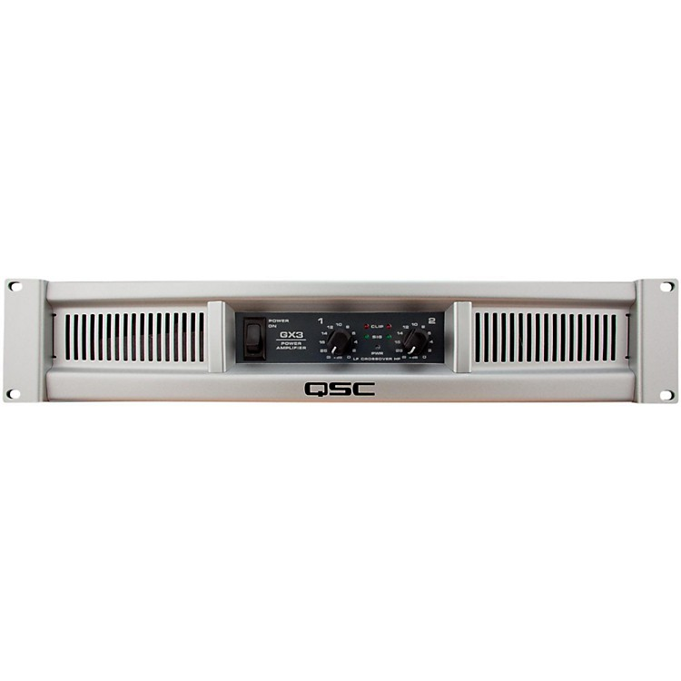 QSC GX3 Stereo Power Amplifier