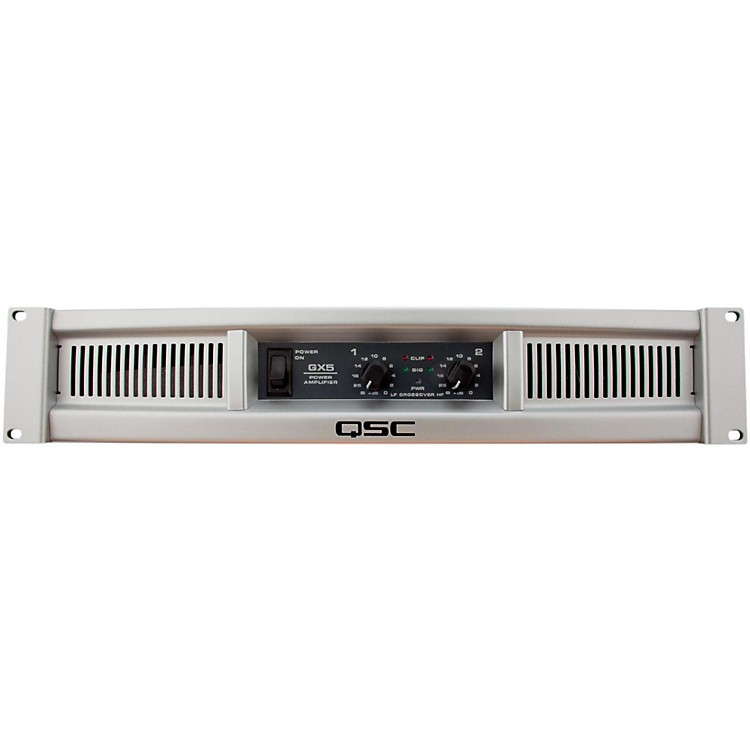 QSCGX5 Stereo Power Amplifier