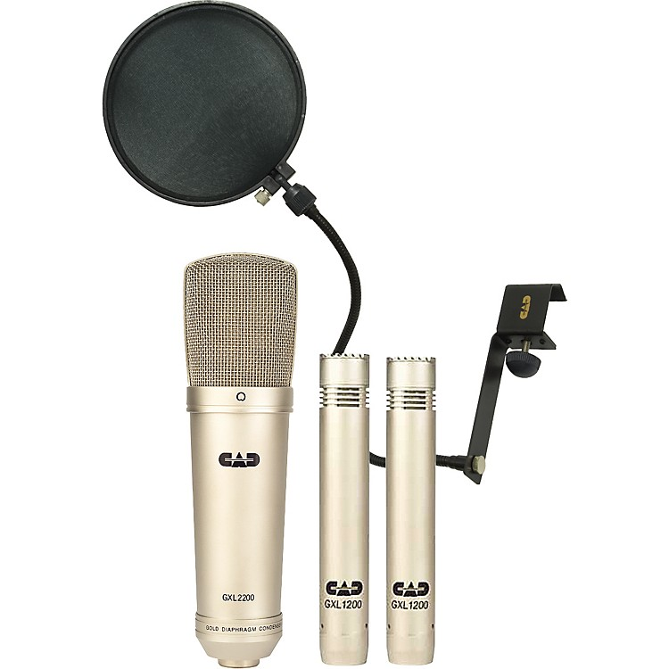 CADGXL2200/1200 Stereo Studio Microphone Pack