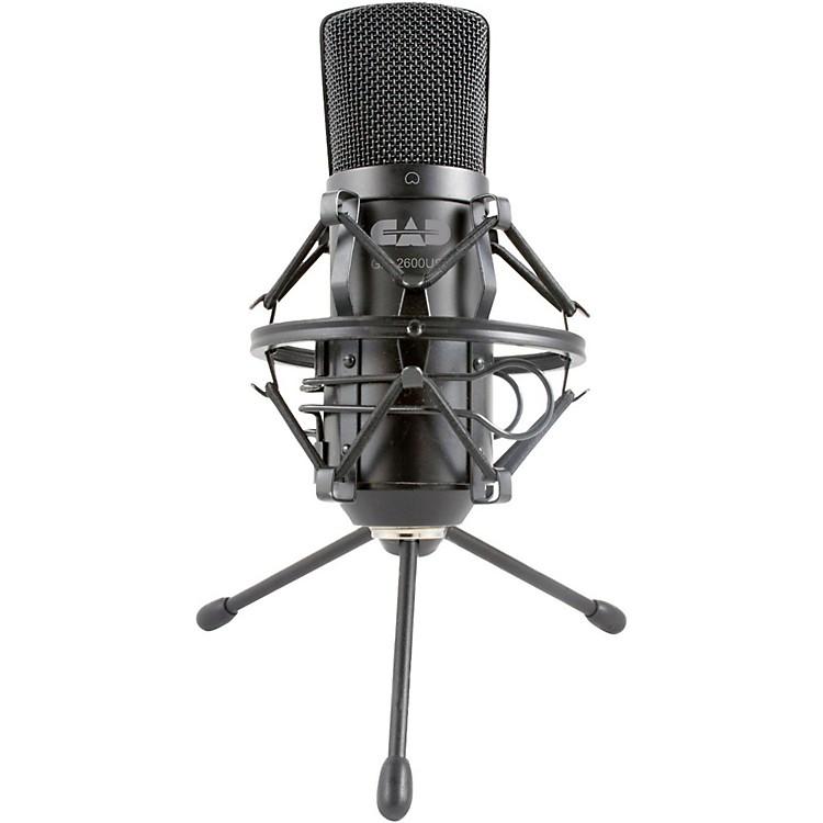 CADGXL2600USB Large Diaphragm USB Studio Condennser Microphone
