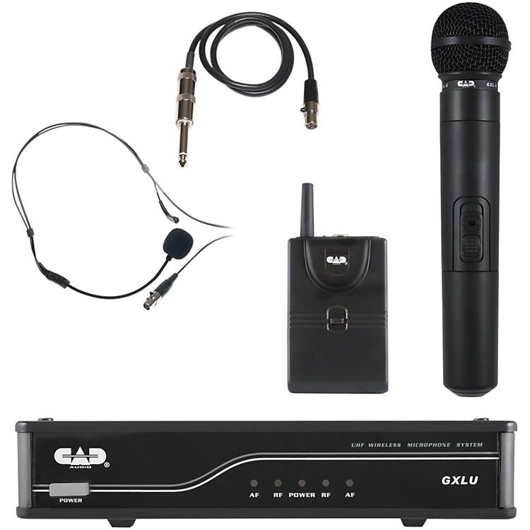 CADGXLUHB Dual Channel UHF Wireless SystemFreq. L