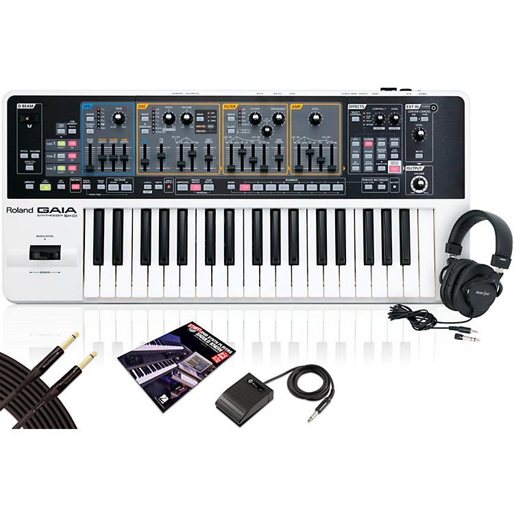 Roland Gaia SH-01 Synth Package