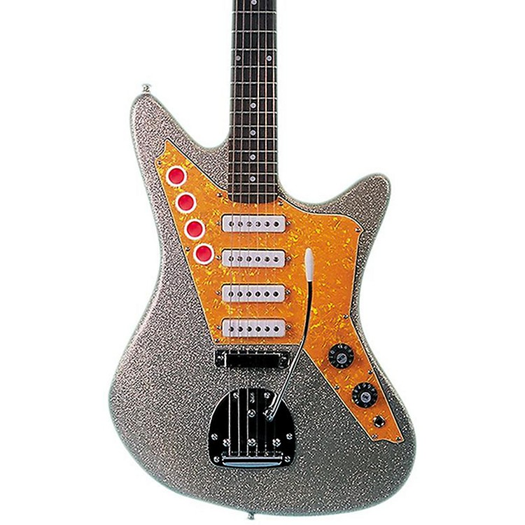 DiPintoGalaxie 4 - Los Straitjackets Electric GuitarSilver Sparkle