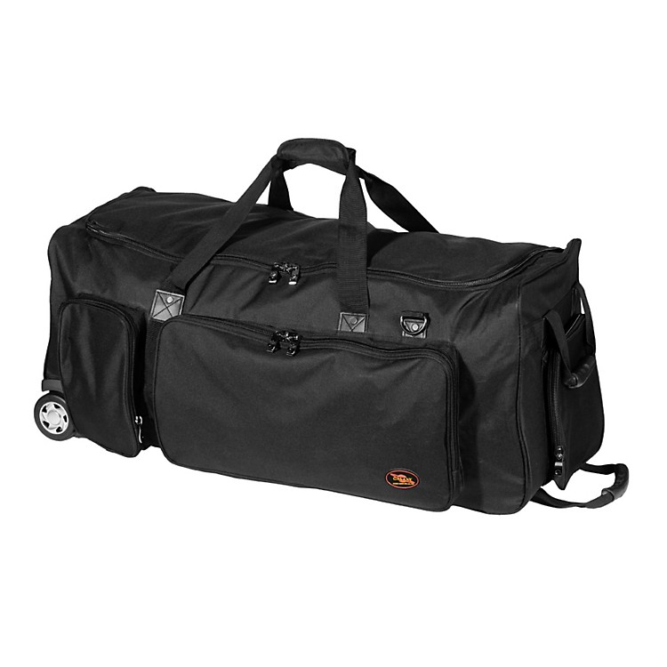 Humes & Berg Galaxy Companion Tilt-N-Pull Bag Black 45.5x14.5