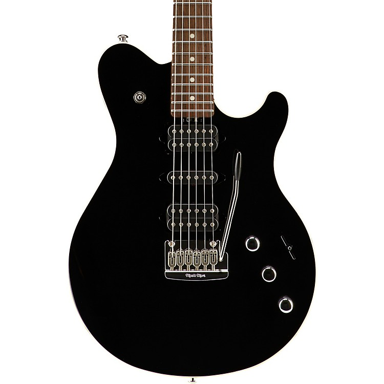 Music Man Game Changer Reflex HSH with Tremolo and Piezo Electric Guitar Black Rosewood Fretboard