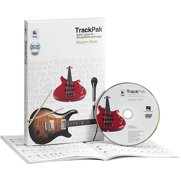 Hal LeonardGarageBand Modern Rock TrackPak (Book/DVD ROM)