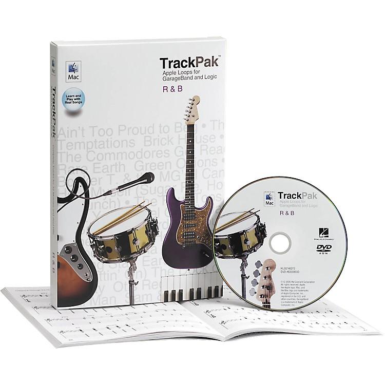 Hal LeonardGarageBand R'n'B TrackPak (Book/DVD ROM)