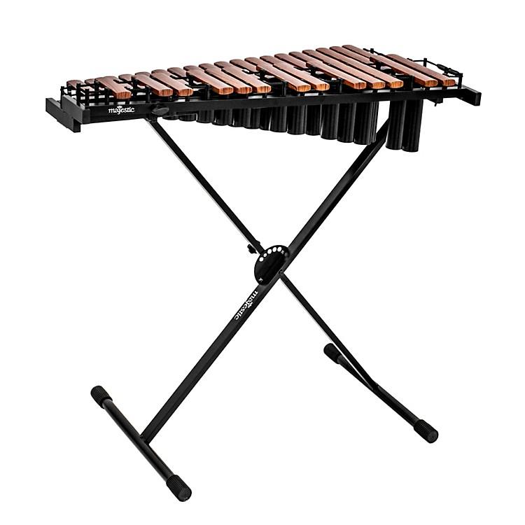 MajesticGateway Series 2.5 Octave Padauk Bar Practice Xylophone w/ Resonators