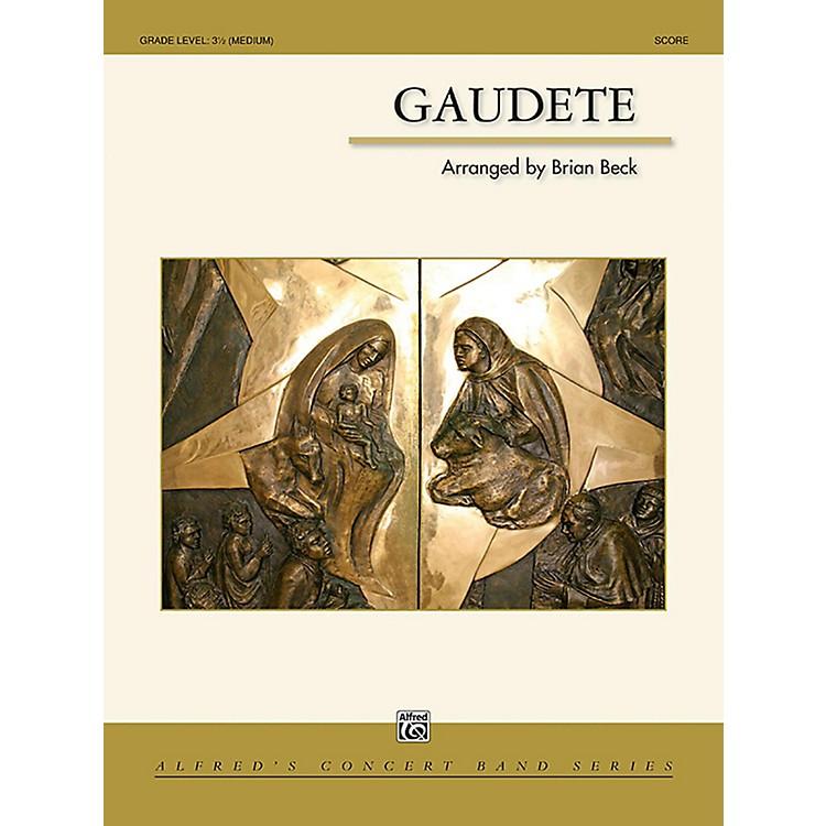 AlfredGaudete Concert Band Grade 3.5 (Medium)