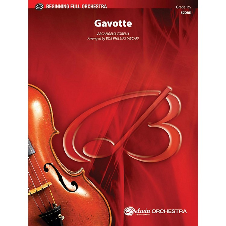 AlfredGavotte Full Orchestra Grade 1.5