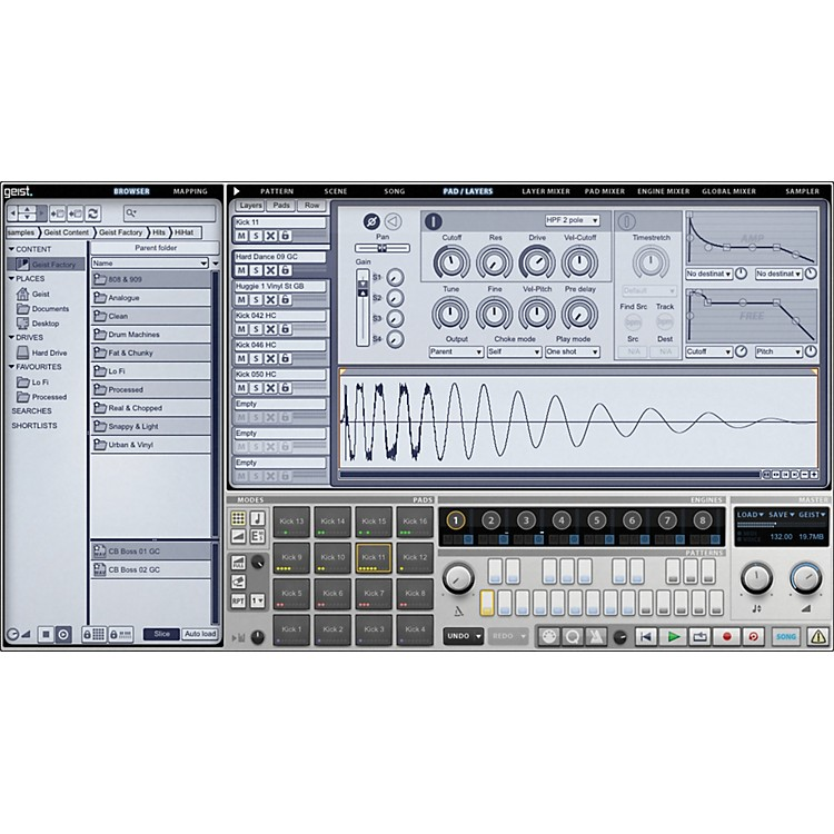 Fxpansion Geist Virtual Sampling Instrument Software Download Software Download